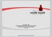 6. Uluslararası Mistik Müzik Festivali